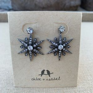 Chloe+Isabel Starburst Convertible Jacket Earrings